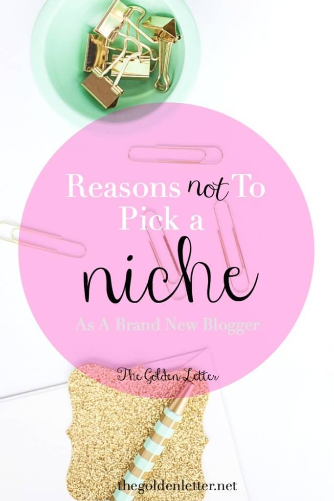 Reasons Not To Pick A Niche