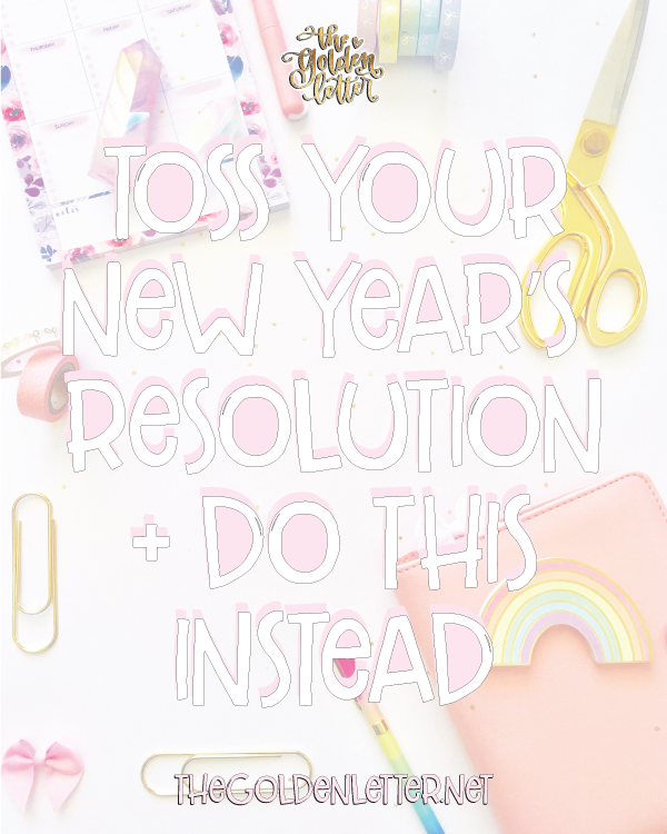 Give Your NY Resolutions a Major Upgrade By Doing This + UPDATE
